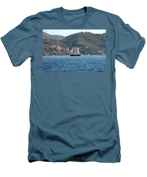 Patricia Belle Men's T-Shirt (Slim Fit) by Jim Walls PhotoArtist
