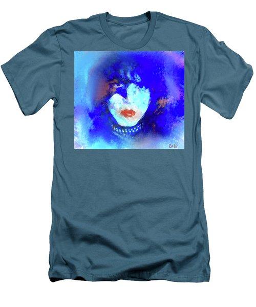 Paul Stanley Of Kiss - Portrait Men's T-Shirt (Athletic Fit)