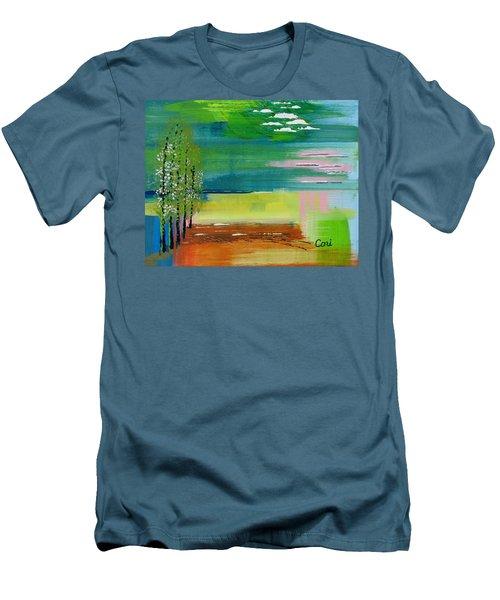 Pause Men's T-Shirt (Athletic Fit)