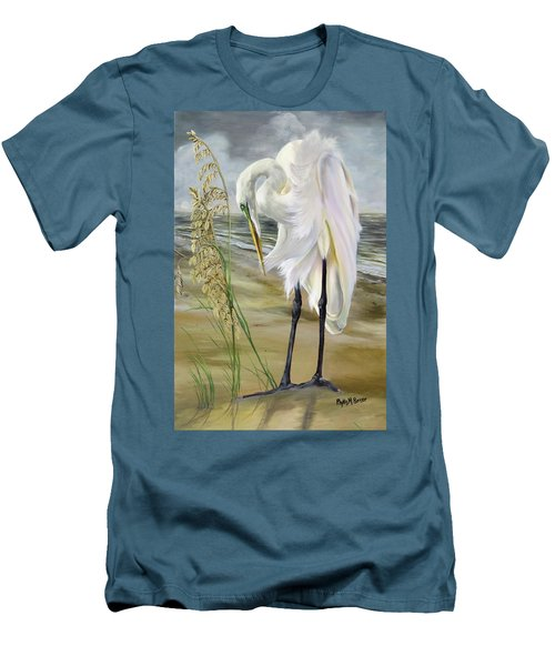 Peace In The Midst Of The Storm Men's T-Shirt (Slim Fit) by Phyllis Beiser