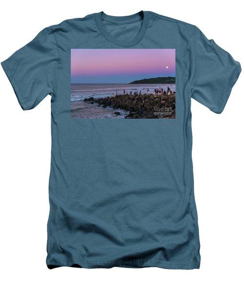 People Watch The Sun Set Men's T-Shirt (Athletic Fit)
