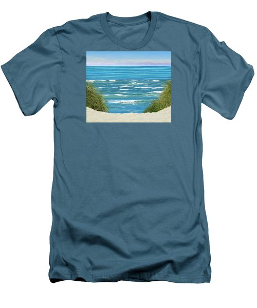 Men's T-Shirt (Slim Fit) featuring the photograph Perfect Seas by Adria Trail