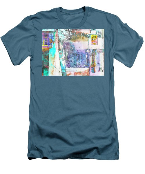 Men's T-Shirt (Slim Fit) featuring the photograph Performance Arts by Susan Stone