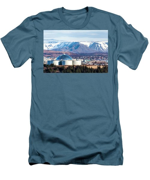Perlan Men's T-Shirt (Slim Fit) by Wade Courtney