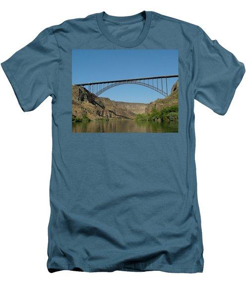 Perrine Bridge Men's T-Shirt (Athletic Fit)