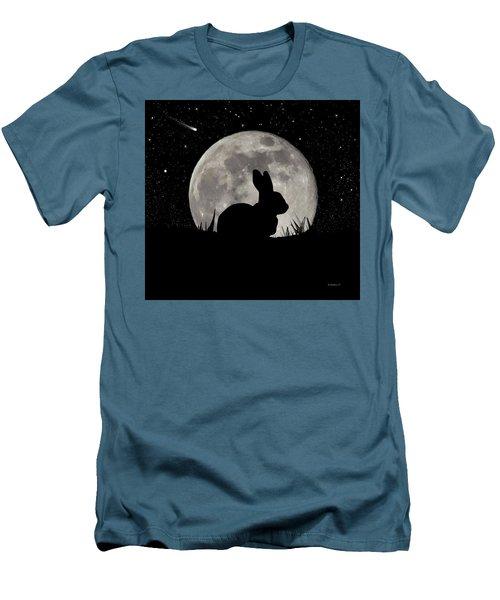 Peter Cottontail Men's T-Shirt (Athletic Fit)