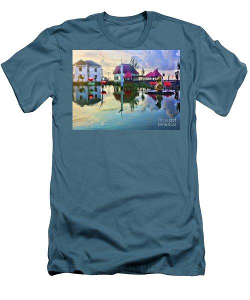 Phan Thiet Coast I Men's T-Shirt (Slim Fit) by Chuck Kuhn