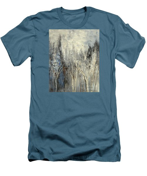 Phantom Glory Men's T-Shirt (Slim Fit) by Tatiana Iliina
