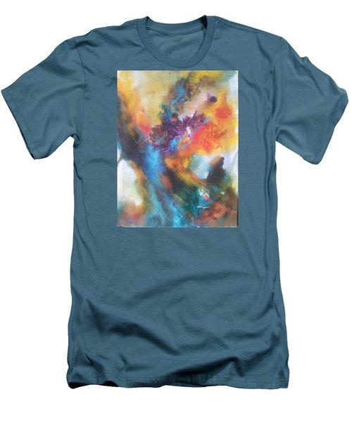 Phoenix Men's T-Shirt (Slim Fit) by Becky Chappell