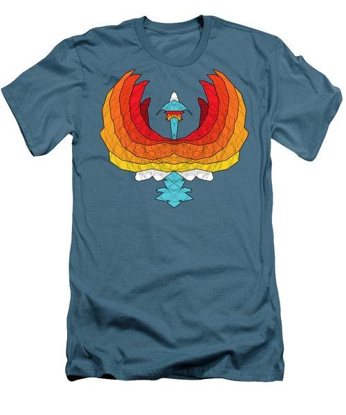Phoenix Men's T-Shirt (Slim Fit) by Dusty Conley