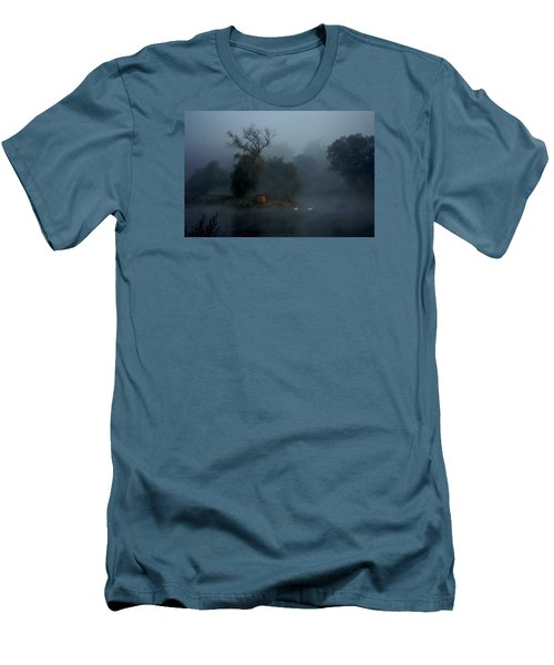 Men's T-Shirt (Slim Fit) featuring the photograph Photo By Yossi Danielzon by Meir Ezrachi