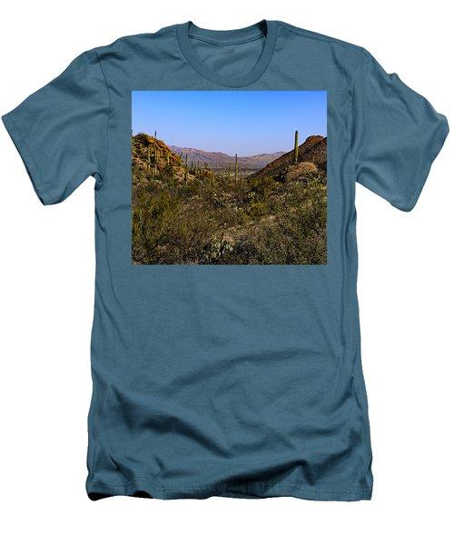 Picture Rocks 24 Men's T-Shirt (Athletic Fit)