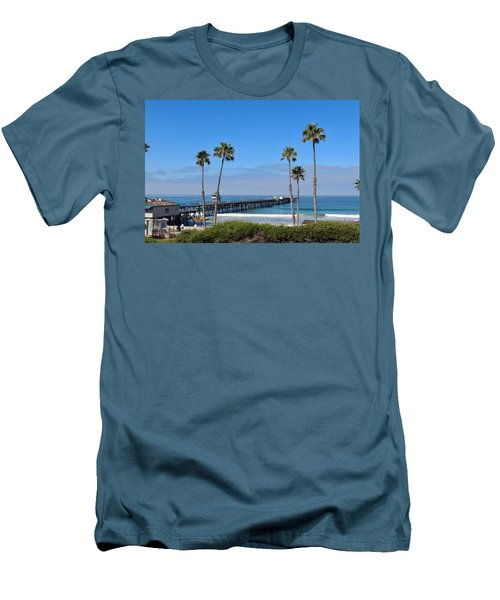 Pier And Palms Men's T-Shirt (Athletic Fit)