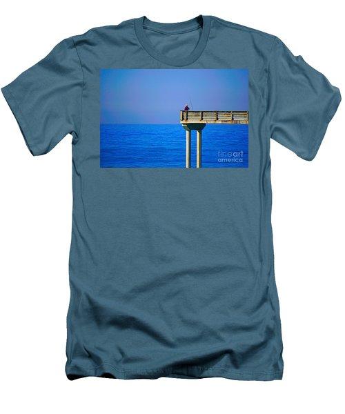 Pier Man Men's T-Shirt (Athletic Fit)