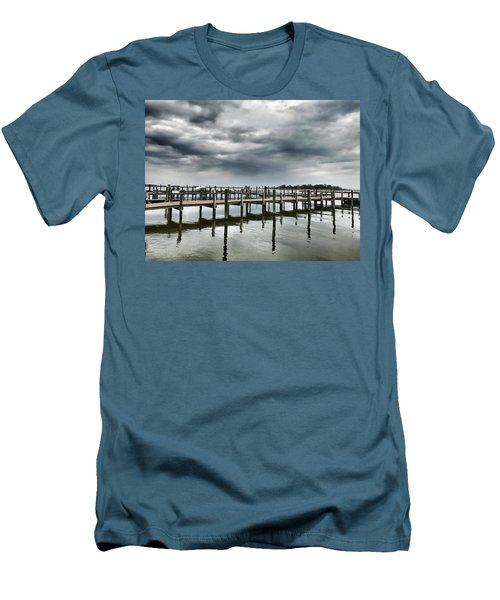 Pier Pressure Men's T-Shirt (Athletic Fit)