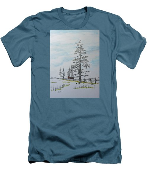 Pine Tree Gate Men's T-Shirt (Athletic Fit)
