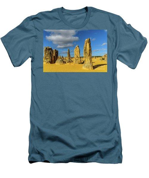 Pinnacles 6 Men's T-Shirt (Athletic Fit)