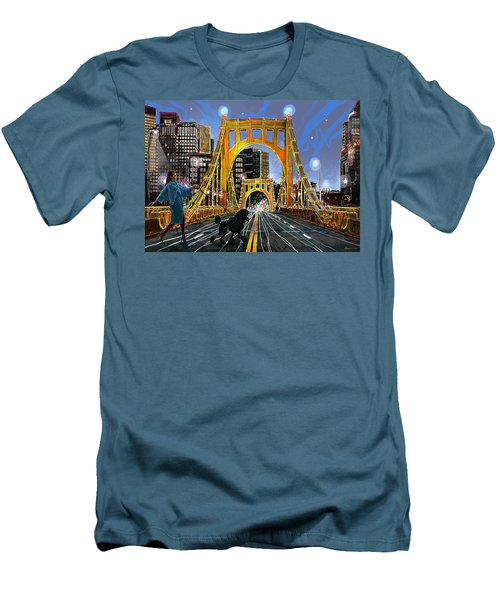 Pittsburgh Chic Men's T-Shirt (Athletic Fit)