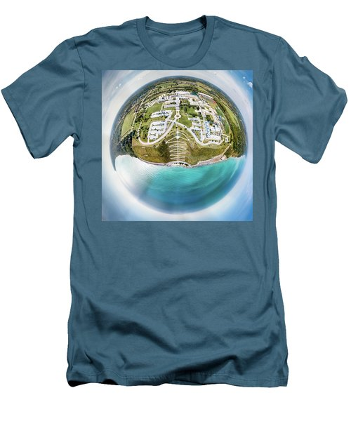 Men's T-Shirt (Athletic Fit) featuring the photograph Planet Concordia by Randy Scherkenbach