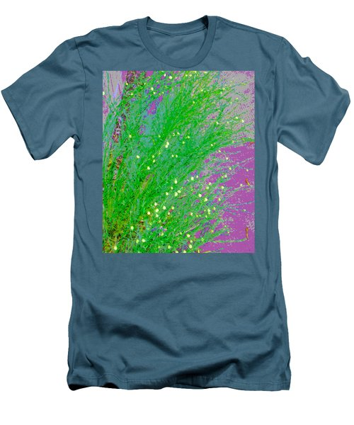 Men's T-Shirt (Slim Fit) featuring the photograph Plant Design by Lenore Senior