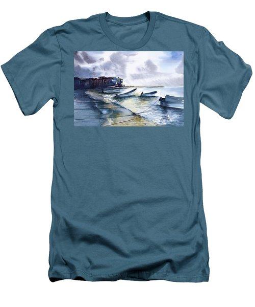 Playa Del Carmen Men's T-Shirt (Athletic Fit)