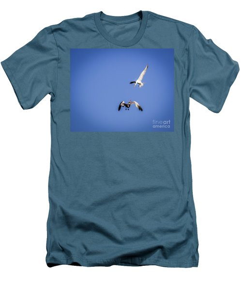 Playing Terns Men's T-Shirt (Athletic Fit)