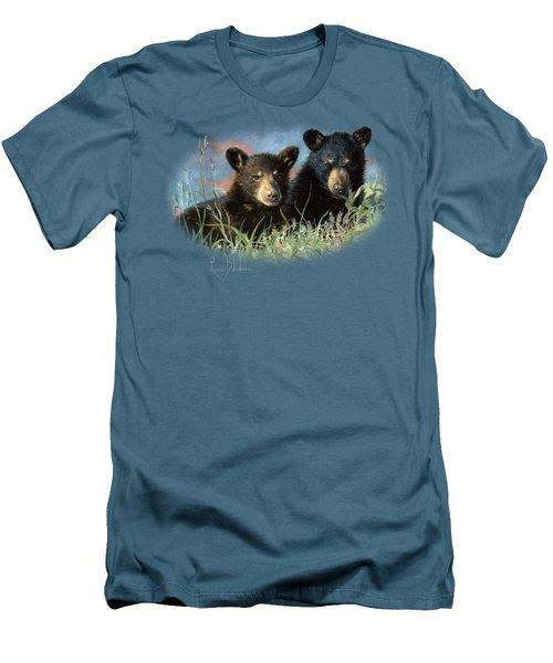 Playmates Men's T-Shirt (Slim Fit) by Lucie Bilodeau