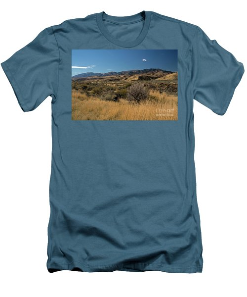 Pocatello Area Of South Idaho Men's T-Shirt (Slim Fit) by Cindy Murphy - NightVisions