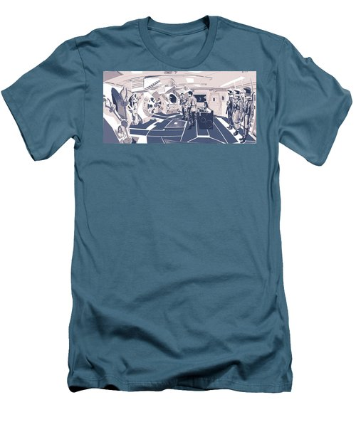 Pod Bay Men's T-Shirt (Slim Fit) by Kurt Ramschissel