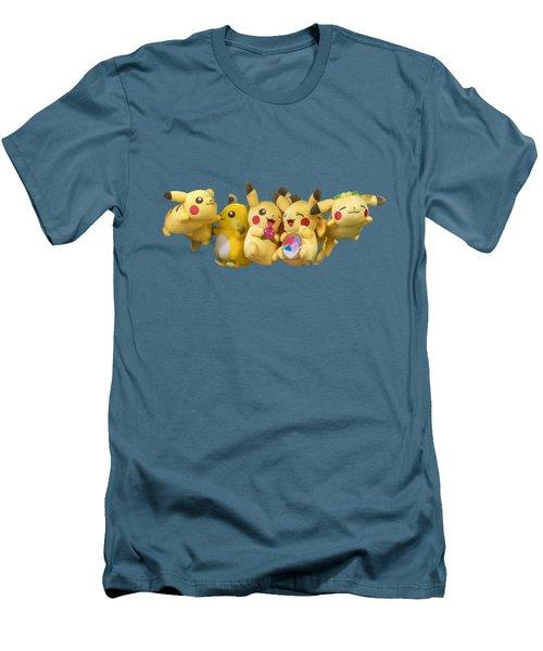 Pokemon Fliers Men's T-Shirt (Slim Fit) by John Haldane