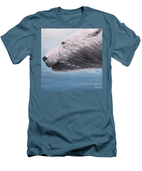 Polar Bear Splash Men's T-Shirt (Athletic Fit)