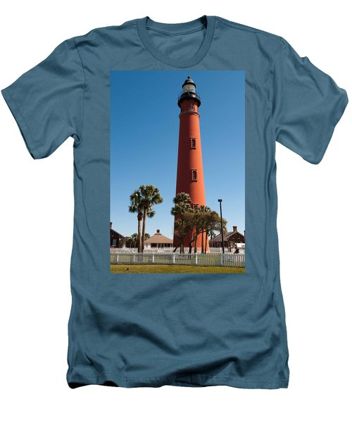 Ponce De Leon Inlet Light Men's T-Shirt (Athletic Fit)