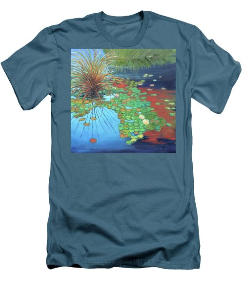 Pond Men's T-Shirt (Slim Fit) by Gary Coleman