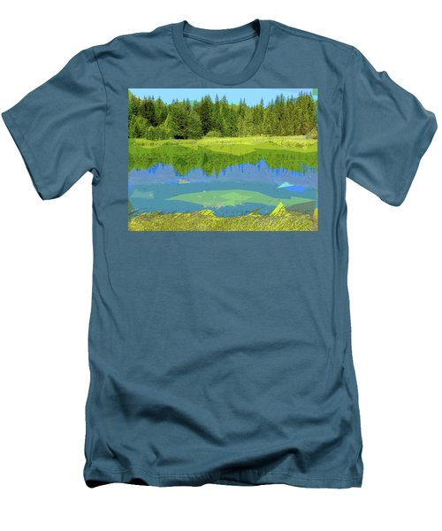 Pond Men's T-Shirt (Athletic Fit)