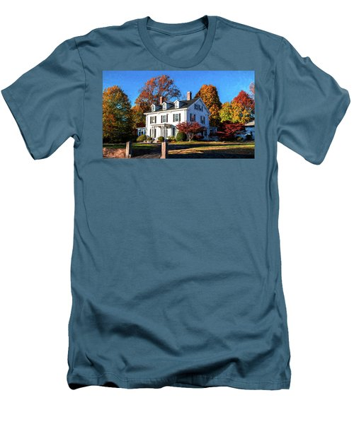Pond Street Life In Jp Men's T-Shirt (Athletic Fit)
