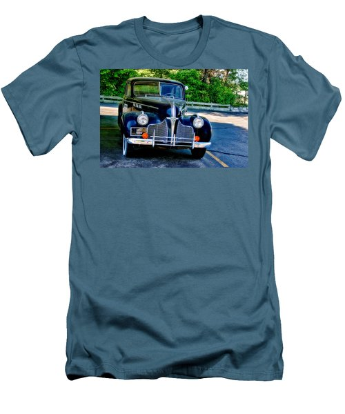 Men's T-Shirt (Slim Fit) featuring the photograph Pontiac 1940 by Joan Bertucci