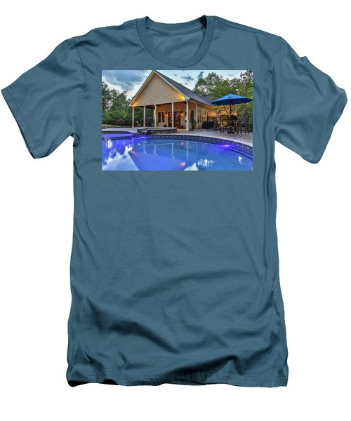 Pool House Men's T-Shirt (Athletic Fit)