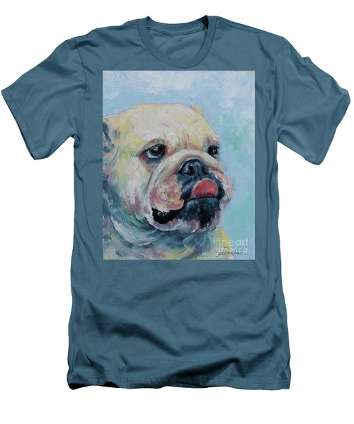 Pork Chop Men's T-Shirt (Slim Fit) by William Reed