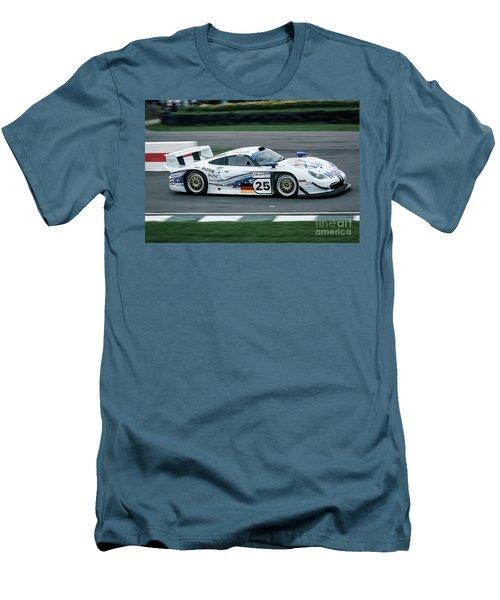 Porsche 911 Gt1 Strassenversion Men's T-Shirt (Athletic Fit)