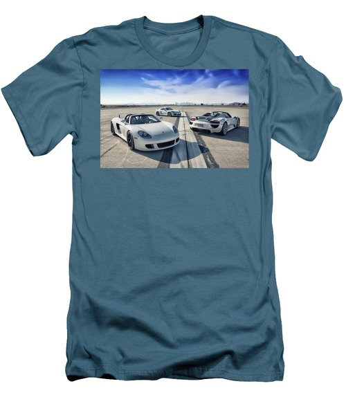 #porsche #carreragt,  #918spyder,  #cayman #gt4 Men's T-Shirt (Athletic Fit)