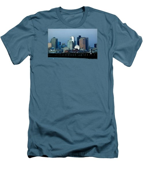 Port Of Boston Men's T-Shirt (Athletic Fit)