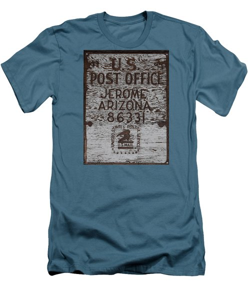 Post Office Jerome - Arizona Men's T-Shirt (Slim Fit) by Dany Lison