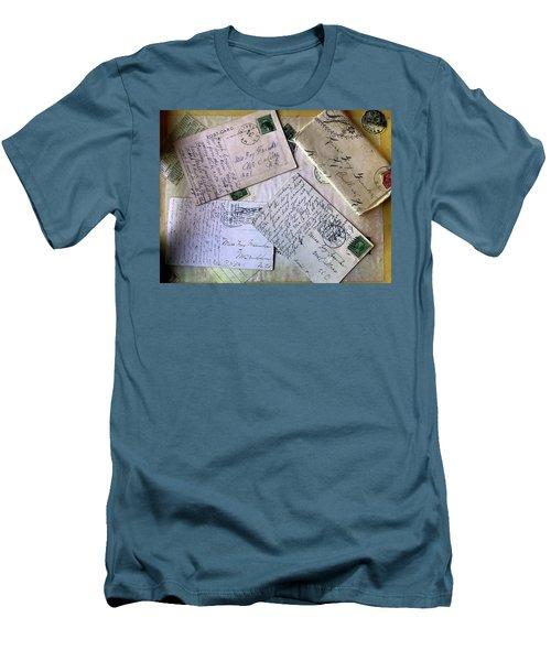 Postcards And Proposals Men's T-Shirt (Athletic Fit)