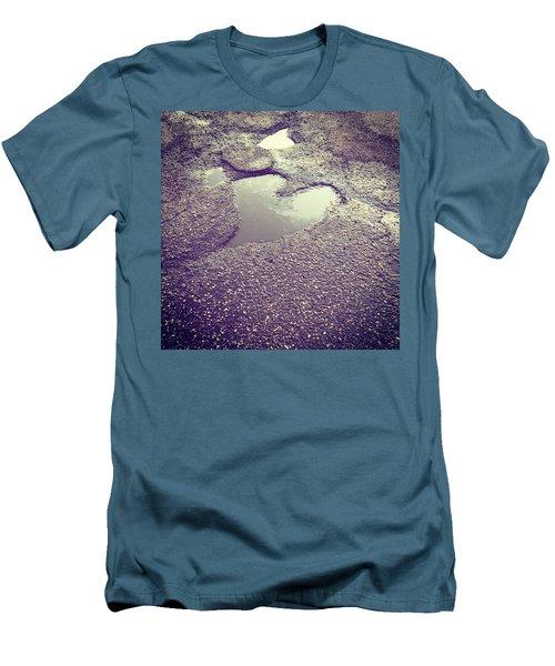 Pothole Love Men's T-Shirt (Athletic Fit)