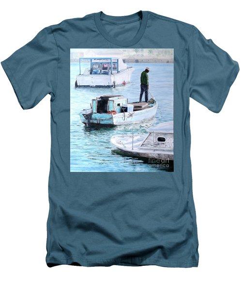 Potter's Cay Blues Men's T-Shirt (Athletic Fit)