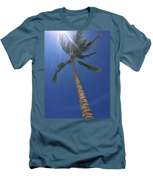 Powerful Palm Men's T-Shirt (Athletic Fit)