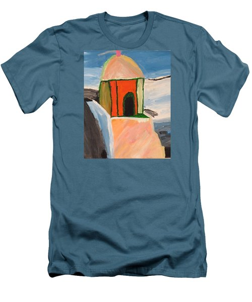 Prayer Hut Men's T-Shirt (Athletic Fit)