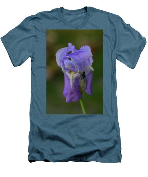 Pretty In Purple Men's T-Shirt (Slim Fit) by Teresa Tilley