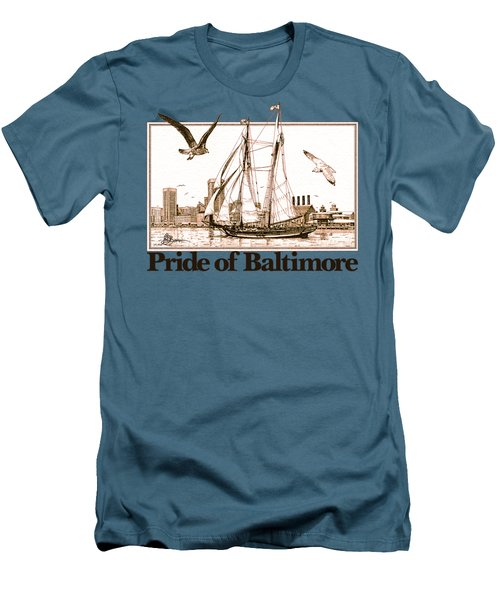 Pride Of Baltimore Shirt Men's T-Shirt (Athletic Fit)