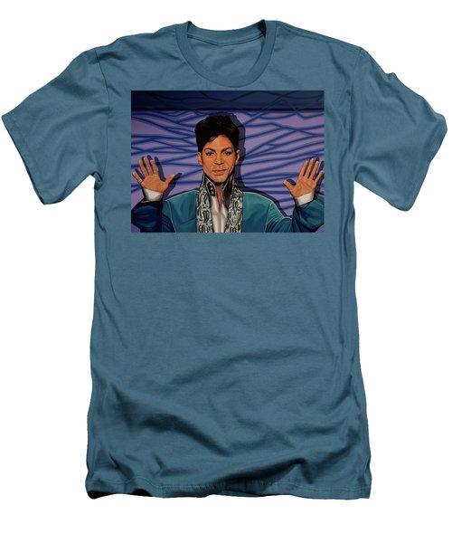 Prince 2 Men's T-Shirt (Slim Fit) by Paul Meijering